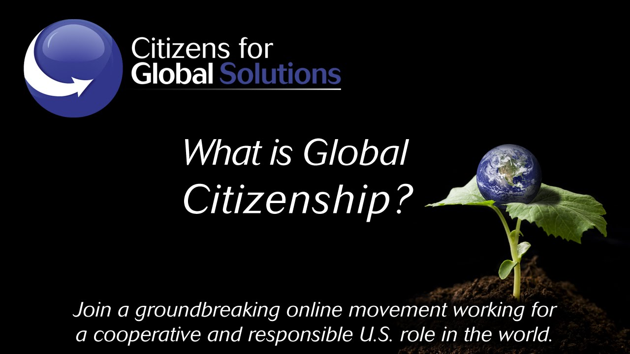 global citizenship essay