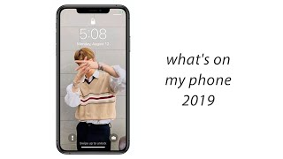 what's on my phone (2019)