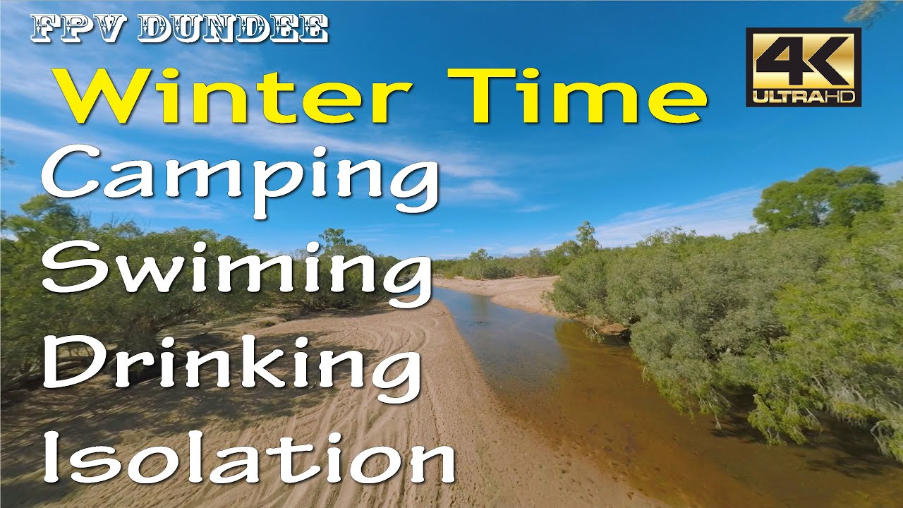 Winter Time River Camping Outback Queensland - YouTube