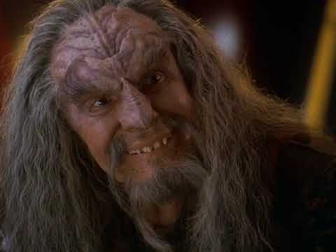 Dahar Master Kor Meet Lieutenant Commander Worf