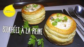 Буше а ля рен с морепродуктами  Bouchee a la reine