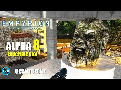 Empyrion Galactic Survival | Alpha 8 Exp | ROAMING the PLANET | Visiting the VILLAGE | Ep. 23