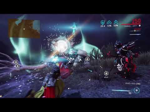 Warframe eidolon kill with a lenz and chroma