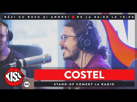 Standup Comedy la radio | Costel