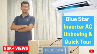 Bluestar 1 Ton Inverter AC Unboxing & Quick Tour
