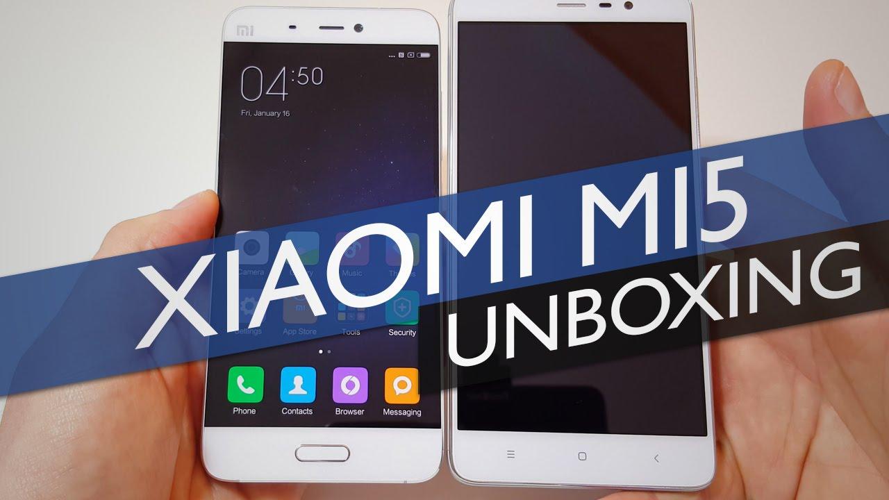 Xiaomi Mi5 Unboxing Hands On 3GB 64GB Prime Model