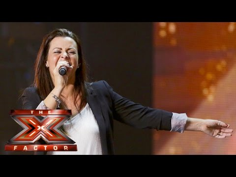 Emotions run high for Cheryl during Sherilyn's audition | Auditions Week 4 | The X Factor UK 2015