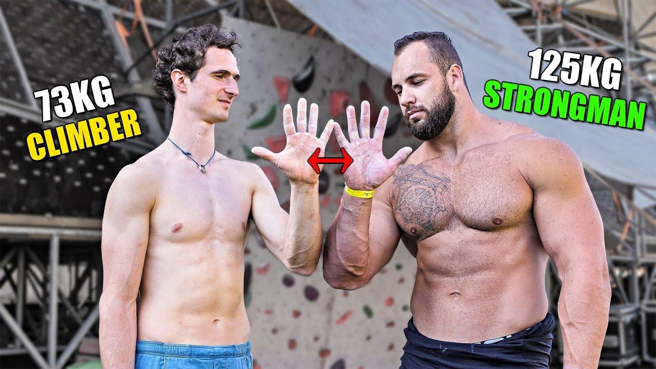 Strongman VS Bouldering s Adamem Ondrou