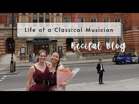 RECITAL DAY! | Classical Musician Life #4