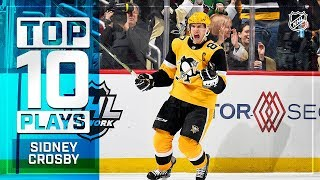 Top 10 Sidney Crosby plays from 2018-19