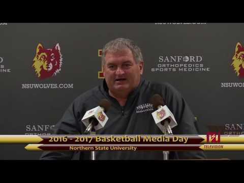 2016 NSU  Basketball Media Day