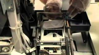 thoroughly cleaning of wiper assembly arms on brother gt printers