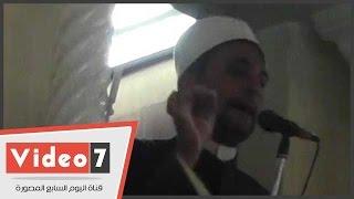 خطيب مسجد مصطفى محمود ينصح المصلين بالنظافة الشخصية