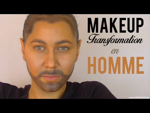 transformation maquillage femme en homme colashood2 youtube. Black Bedroom Furniture Sets. Home Design Ideas