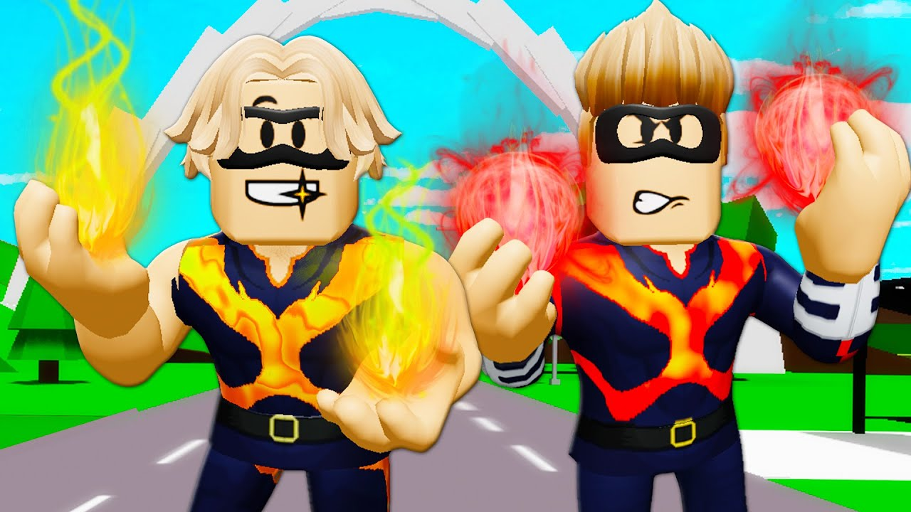 The Superhero Twins! (A Roblox Brookhaven RP Movie)