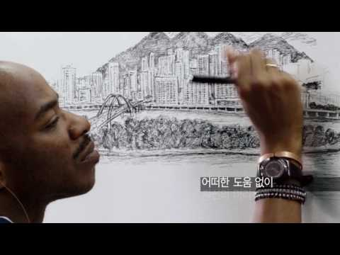 Stephen Wiltshire in LG Ultrawide Monitor Ad