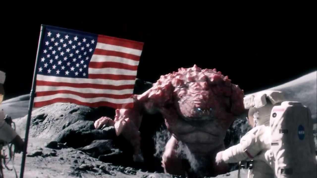 Pub Beans - Un monstre attaque des astronautes sur la lune ...
