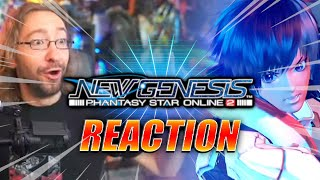 MAX REACTS: PSO2 A REALM REBORN?! - Phantasy Star Online New Genesis Reveal Trailer