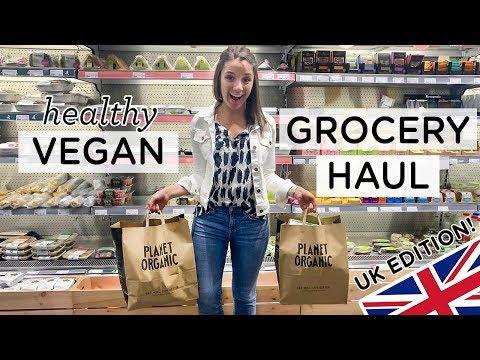VEGAN GROCERY HAUL ‣‣ Healthy Food in London 🇬🇧