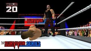 WR3D 20 : The Fiend vs. Daniel Bryan - Universal Championship Match : WWE Survivor Series (2019)