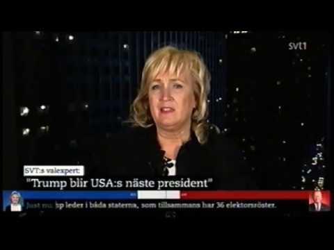 SVT USA Valvaka 2016 kl: 07:13 - 08:05 nov 9