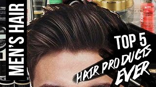 TO5 5 MEN'S HAIR PRODUCTS & HAIR BRANDS EVER (MY HOLY-GRAILS)   JAIRWOO