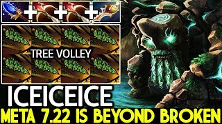 Iceiceice [Tiny] New Meta 7.22 is Beyond Broken WTF Instant Kill Dota 2