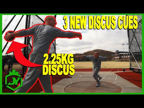 HEAVY DISCUS TRAINING + 3 NEW DISCUS CUES - JY THROWS S3 E10
