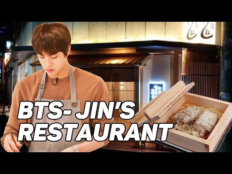BTS JIN'S RESTAURANT - WE ARE HERE!