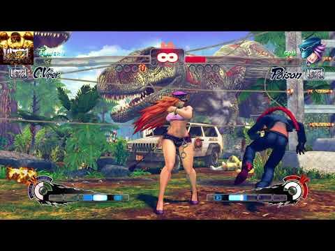 ULTRA STREET FIGHTER IV C.Viper vs Poison  
