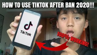 HOW TO USE TIKTOK AFTER BAN 2020!!! *100% WORKING*