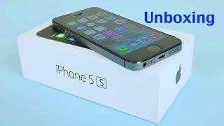 iPhone 5S Unboxing and Setup : Unboxing the New Apple iPhone 5S Black- Space Gray(This video:Apple iPhone 5S Unboxing and setup. This is our first look at the iPhone 5S that we just received. We will be testing the iPhone 5S further in our full ..., 2013-09-20T20:29:22.000Z)