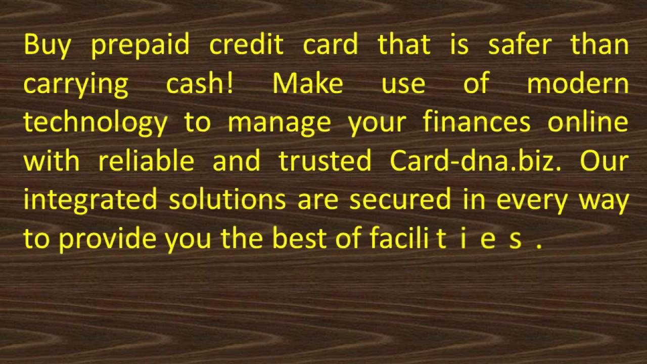 buy prepaid credit card at card dna - Buy Prepaid Card With Credit Card