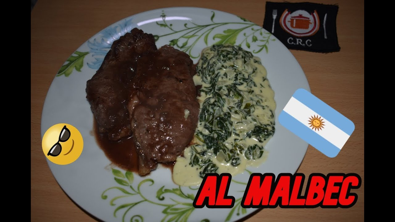 🍷🍷 BIFES DE CHORIZO 🥩🥩🍷 (con Espinacas a la Crema) |COCINA DE RESTAURANTE EN CASA