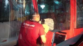 Odstraňovanie škrabancov z kabiny