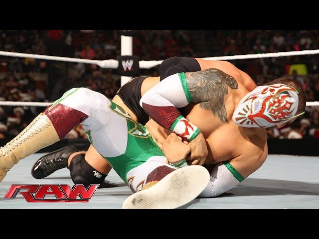 Sin Cara vs. Curtis Axel: Raw. Dec. 23, 2013 Travel Video