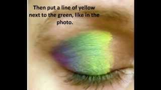 Rainbow Eye Make-Up Thumbnail