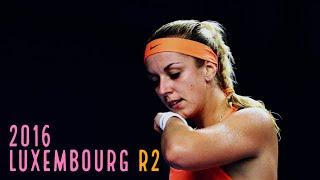 Lisicki vs Wozniacki - 2016 Luxembourg R2 highlights