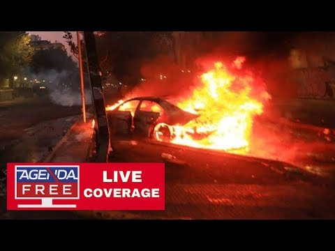 Fires, Looting & Protests in Santiago & Chile  - LIVE COVERAGE