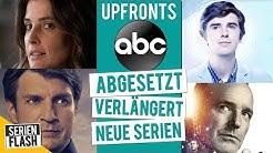 Serien: ABGESETZT, VERLÄNGERT & NEU BESTELLT | ABC · Upfronts 2019 | SerienFlash