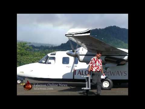 Talofa Airways Flies to Tonga