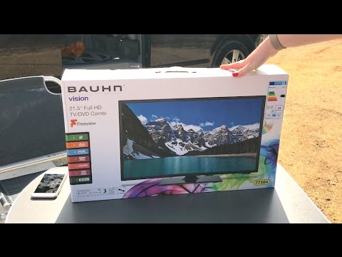 Bargain Bauhn Caravan TV from Aldi Review
