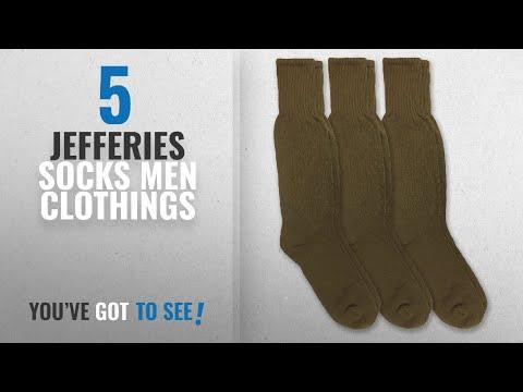 Top 10 Jefferies Socks Men Clothings [ Winter 2018 ]: Jefferies Socks Military Combat Mid Calf Boot