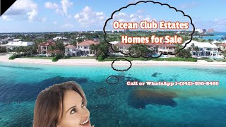 Bahamas Beachfront Property for Sale: Ocean Club Estates Paradise Island