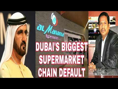 Crisis in Dubai Continue As 40 Year Old Supermarket Chain Default After Owner 'Flees'
