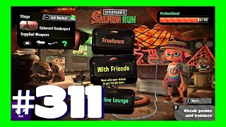 SPLATOON 2 GAMEPLAY #311 - SALMON RUN MODE   The Best Part: Grillers with the loaned Sploosh-o-matic