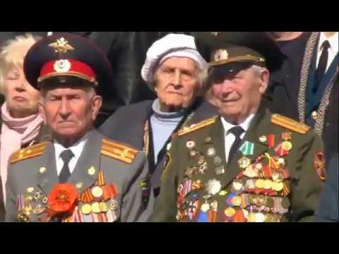 СПбУ МВД России - участник парада 9 мая 2017 года