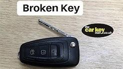Key Repair Ford Mondeo Focus Flip Key HOW TO