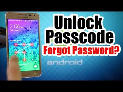 Unlock Passcode Samsung Galaxy Alpha / Forgot Passcode / Restore Passcode Pattern