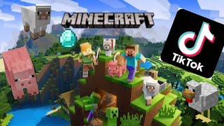 Minecraft Tik Tok Compilation that makes you get an A on every test